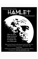Shakespeare Kelowna poster for Hamlet