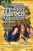 Shakespeare Kelowna poster for The Merry Wives of Windsor